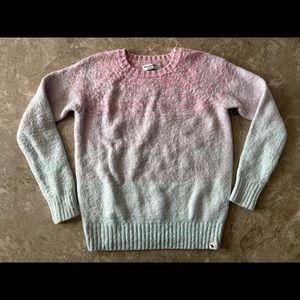 3/$30 Abercrombie kids pastel colour block sweater